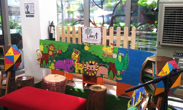 Little Free Library at Fairview Terraces