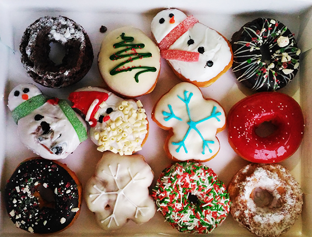 News: Krispy Kreme - 2012 Holiday Donuts | Brand Eating |Christmas Krispy Kreme Doughnuts