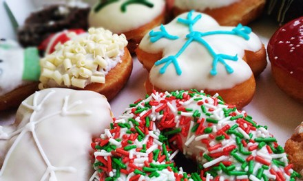 Share the Joy with Krispy Kreme Christmas Doughnuts!