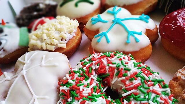 Share the Joy with Krispy Kreme Christmas Doughnuts!