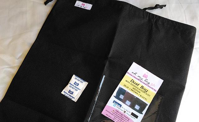 oh my bag ph handle wraps dust bag lifestyle mommy blogger www.artofbeingamom.com 04