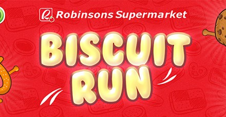 Play Biscuit Run and Win Prizes from Robinsons Supermarket!