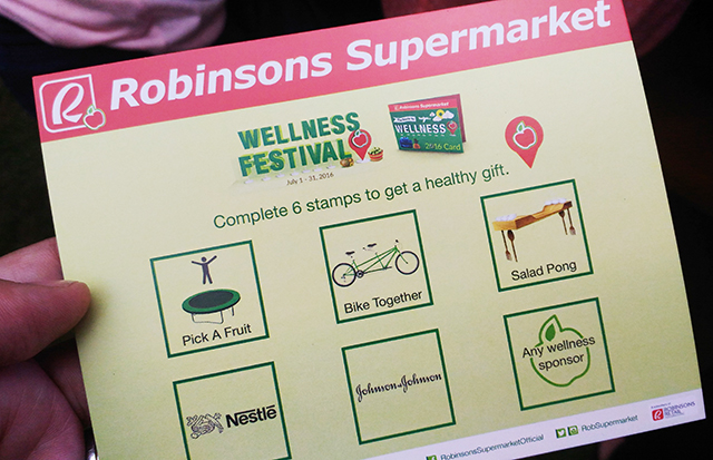 robinsons supermarket wellness festival healthy lifestyle ilovewellness lifestyle mommy blogger www.artofbeingamom.com 01