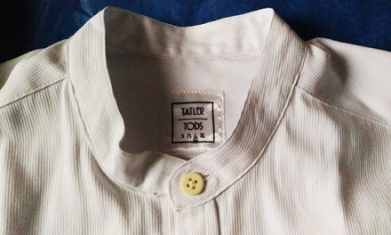 Crisp White Barcelona Polo from Tatler Tods