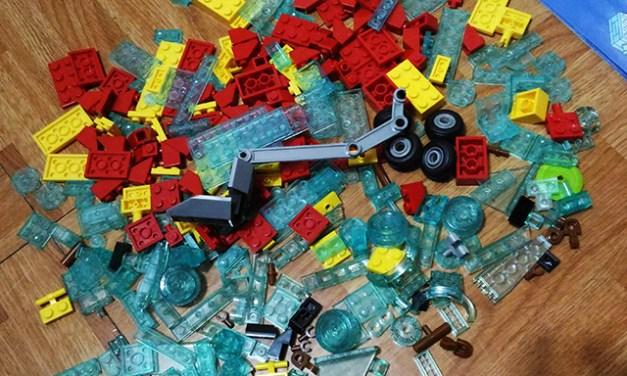 Mega Bloks Spongebob Squarepants Invisible Boatmobile Rescue