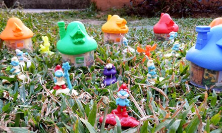 McDonalds Happy Meal: Smurfs Village Toys Collect All 8!