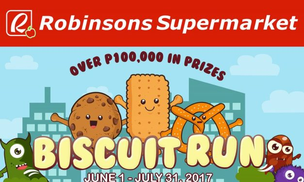 P100,000 Up for Grabs in Robinsons Supermarket's Biscuit Run