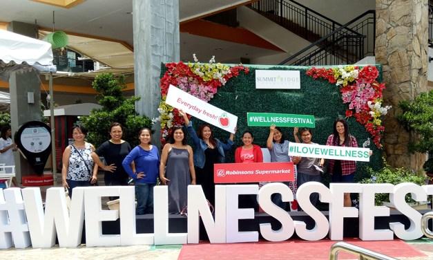 Body Wellness and Freshtival 2017 at Robinsons Supermarket Summit Ridge