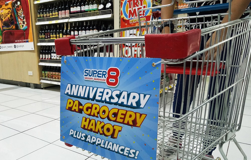 Super 8 Grocery 11th Anniversary Shopping Challenge