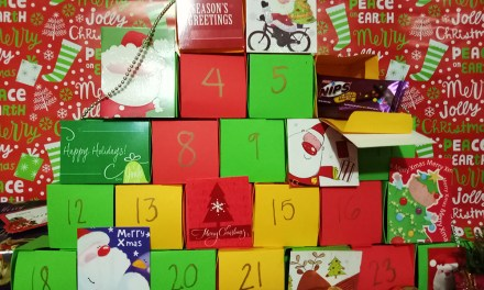 Chocolate Advent Calendar DIY
