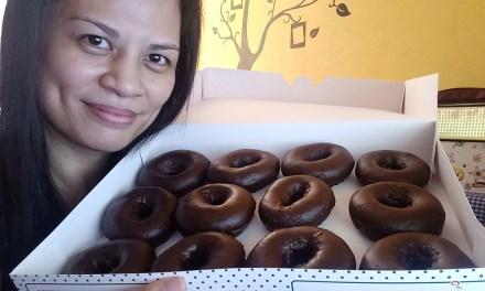All New Chocolate Glazed Doughnuts at Krispy Kreme!