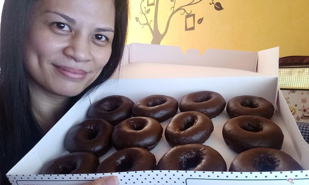All New Chocolate Glazed Doughnuts at Krispy Kreme!