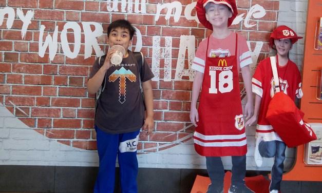 Jael Joins the McDonalds Kiddie Crew 2018!