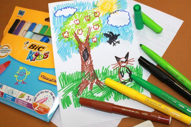 PRPhoto BIC Kids Visacolor Markers