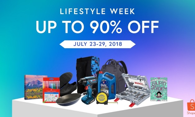 10 Reasons Why You Should Check Out Shopee Lifestyle Week