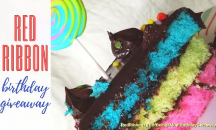 Join My Red Ribbon Birthday Giveaway 2018