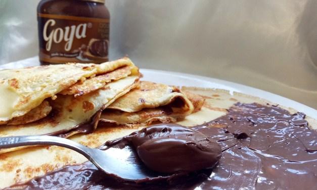 Goya Double Hazelnut Spread Breakfast Recipe Ideas