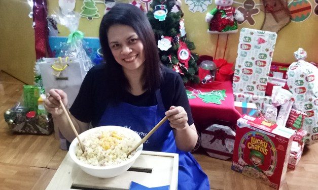 A Christmas Tradition: Creamy Macaroni Salad with Ladys Choice Mayonnaise