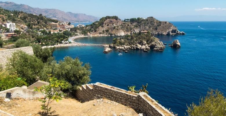 Isola Bella beach,Taormina, Sicily