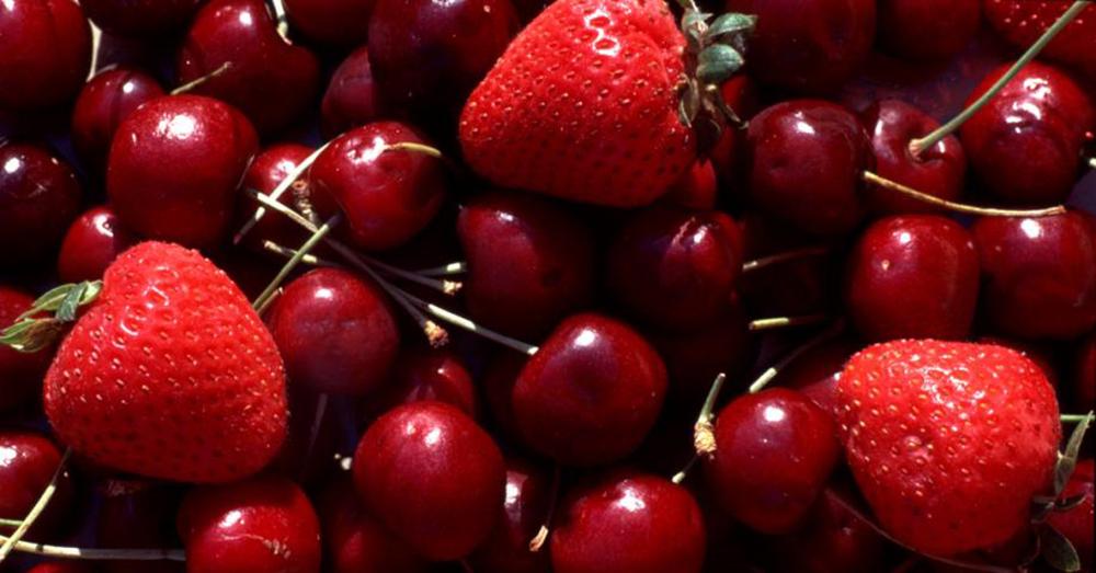 strawberriescherries