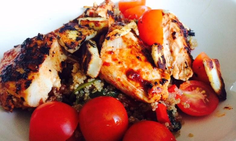 harissa chicken tabbouleh