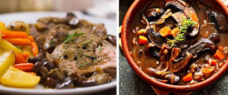 Mushroom or Beef Pot Roast