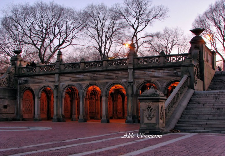 Bethesda Terrace, Central Park, New York