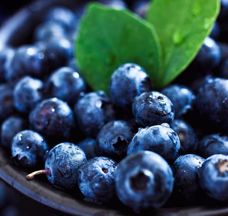 Blueberries to help jump start your energy
