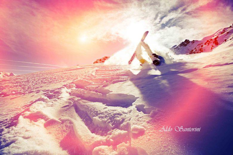 Snowboarding in Mont Tremblant, Quebec