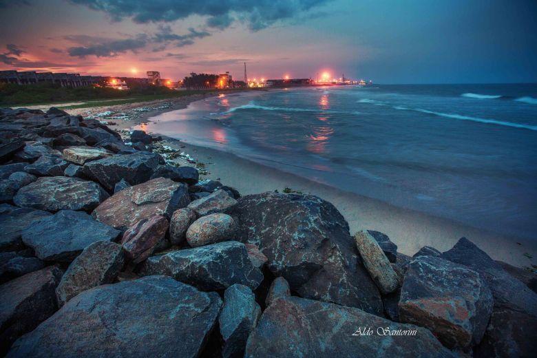 Chennai marina beach.