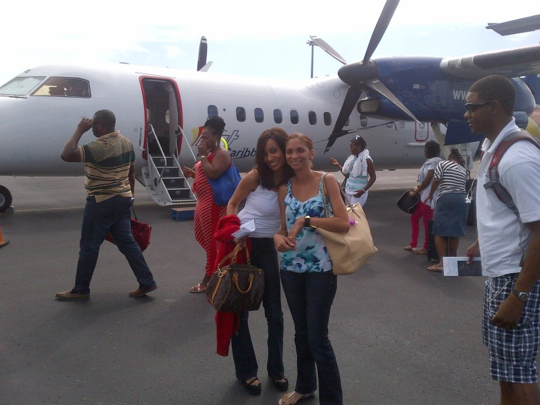 Small plane flight