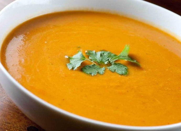 Low Calorie Curry Pumpkin Soup