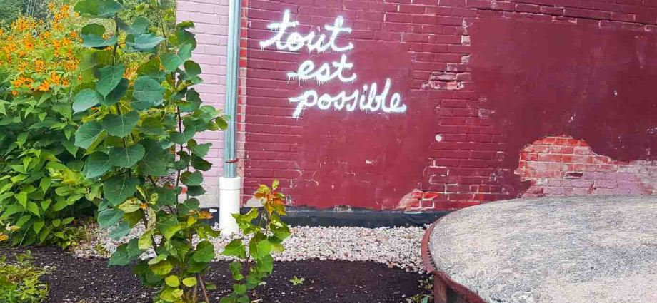 tout est possible - everything is possible