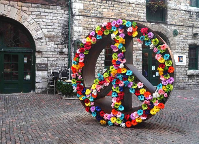 No Negativity - Peace Sign Distillery District