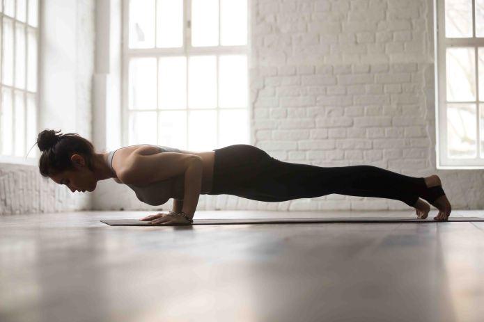plank for core strengthening