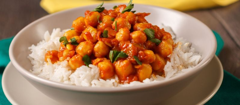 Guyanese-style Channa (chickpea) curry