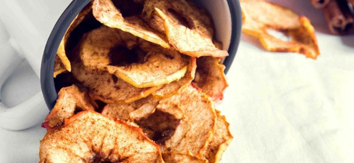Spicy apple cinnamon chips