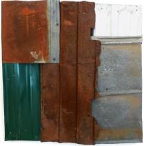 """Green Corner. Brandon Long. 36x36"""""""