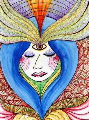 Art-of-Divya-Suvarna_Psychedelizm-20110524-The-Seer