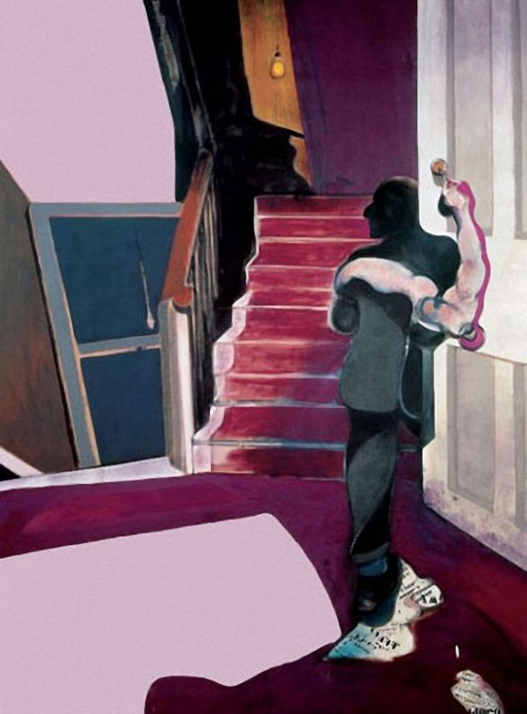 Image result for francis bacon naked lunch