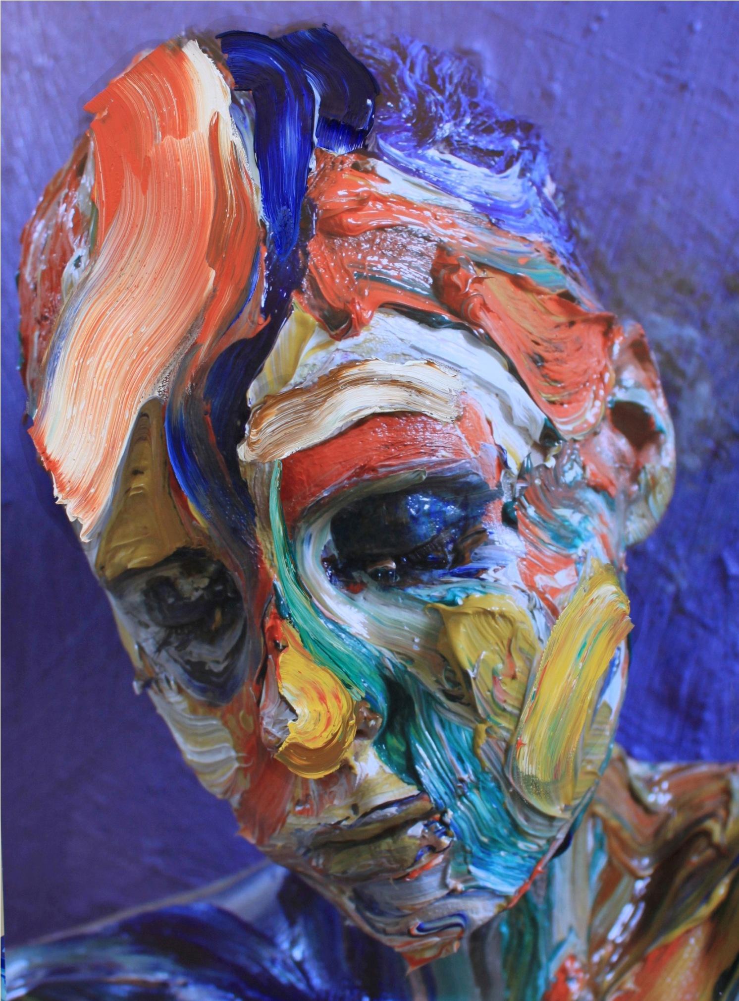 Sophie Derrick Exhilarating Expressionist Impasto