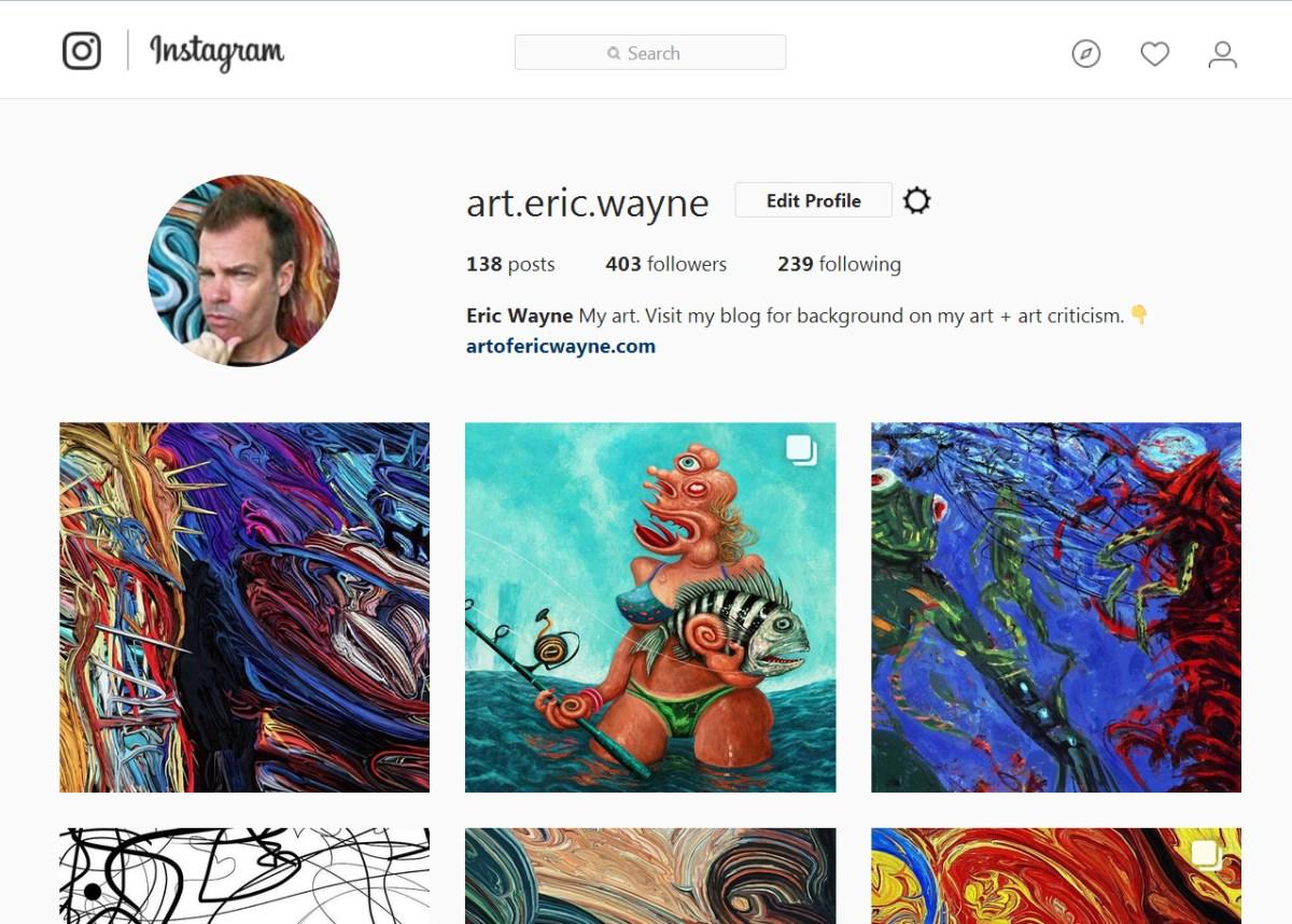 Strange -defeating Psychology Of Instagram Art