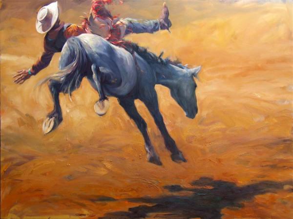 Cowboy Art Painting