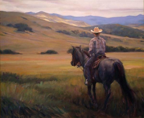 Cowboy Portrait Paintings