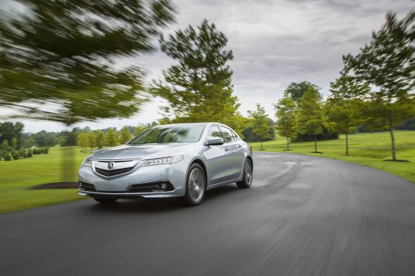 2015 Acura TLX Achieves Highest Overall Vehicle Score from NHTSA.