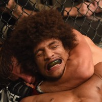 Urijah Faber Vs Alex Caceres Judo Throws Sweeps Analysis and Gifs At UFC 175