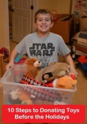 10 Steps to Donating Toys Before the Holidays with Help From Your Child
