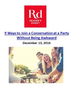 9 Ways to Join a Conversation at a Party Without Being Awkward. The Art of Happy Moving. www.artofhappymoving.com