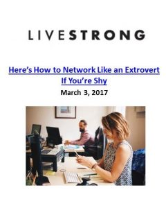 Livestrong_Here's How to Network Like an Extrovert If You're Shy