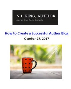 Nadia L King_How to Create a Successful Author Blog